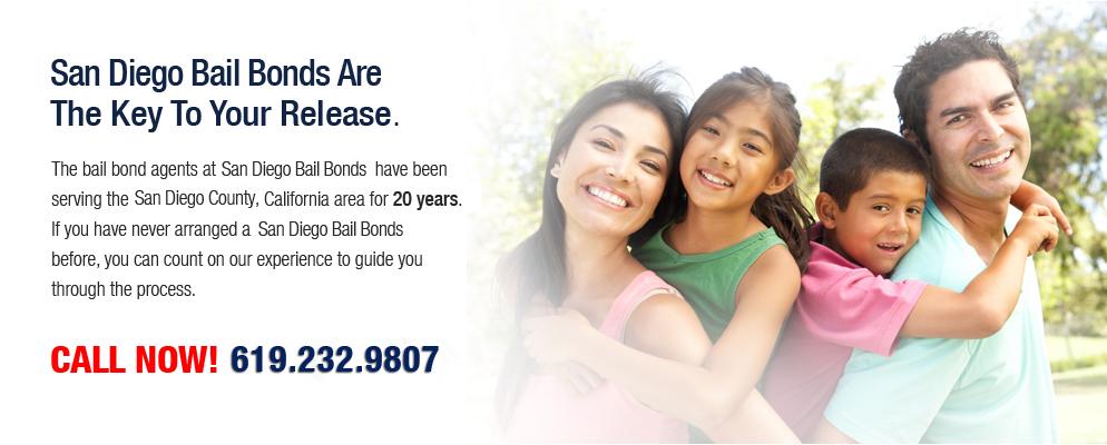 San Diego Bail Bonds | San Diego County Bail Bonds Services